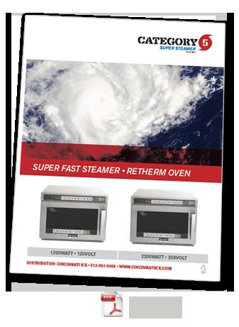 Category 5 Steamer Specs
